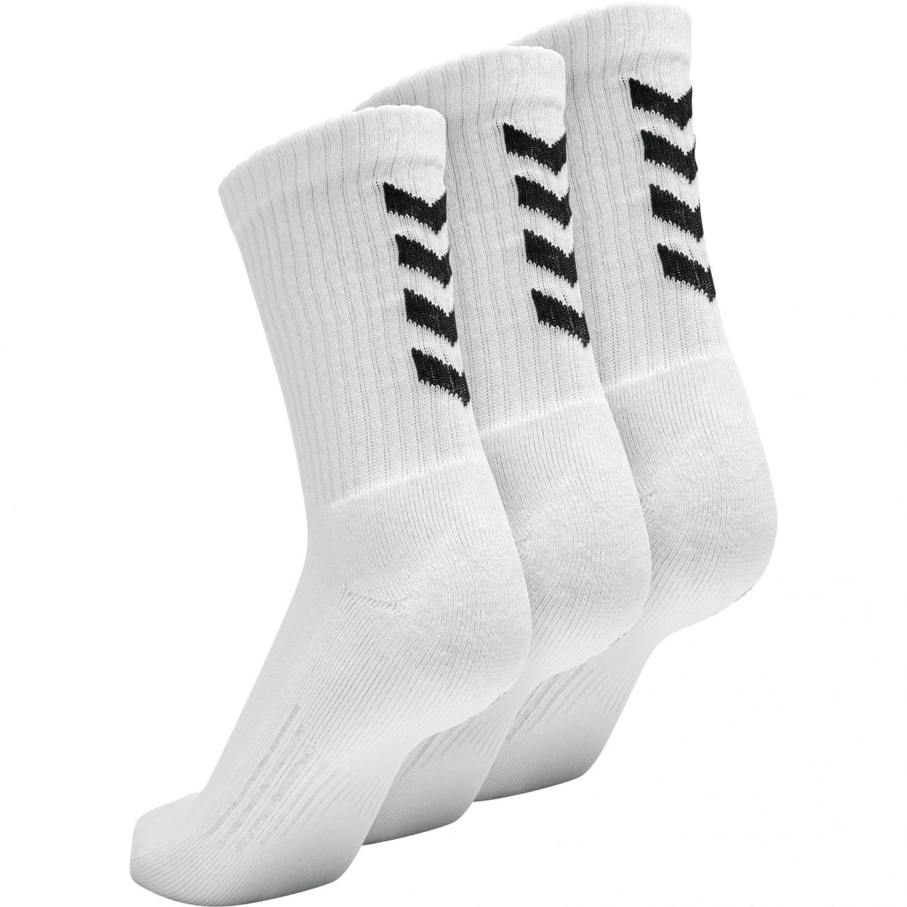 Set di 3 calzini Hummel Fundamental