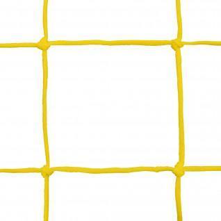 Coppia di reti da pallamano in pe intrecciate 3mm a maglia singola 100 Sporti France
