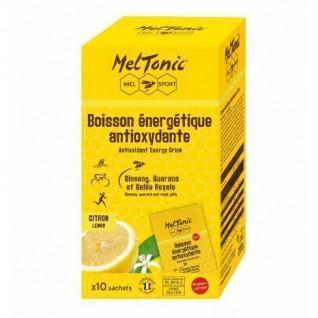 10 Bustine di bevanda energetica antiossidante Meltonic - Limone