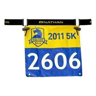 Cintura portapettorali Nathan Race Number 2.0