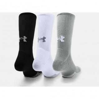 Confezione da 3 paia di calze Hi-Top Under Armour HeatGear® Crew® Crew® Hi-Top