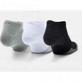 Confezione da 3 paia di calze Under Armour HeatGear® No Show Calzini