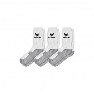 Set di 3 paia di calze sportive Erima