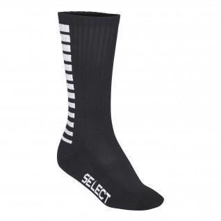 Seleziona le calze alte a righe sportive