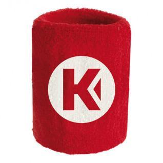Spugna polso kempa Core rosso 9 cm (x1)