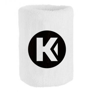 Polso in spugna kempa Core blanc 9 cm (x1)