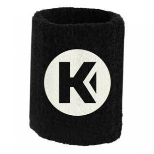 Polso in spugna kempa Core noir 9 cm (x1)