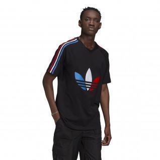 Maglietta con logo Adidas centrato