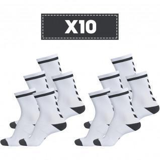 Confezione da 10 paia di calzini Hummel Elite Indoor Low light