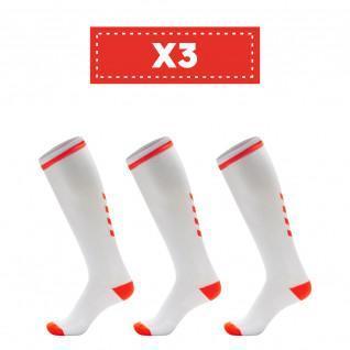 Set di 3 paia di calze alte trasparenti Hummel Elite Indoor