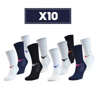 Confezione da 10 calze Mizuno Multisports