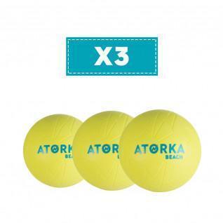 Set di 3 palloni da spiaggia Atorka HB500B