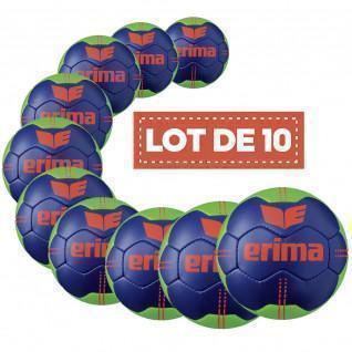 Set di 10 palloncini Erima Pure Grip N° 3