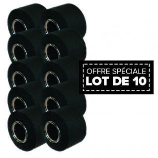Confezione da 10 Sport Tape McDavid 3,8 cm x 10m nero