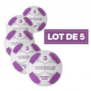 Set di 5 palline da allenamento Tremblay